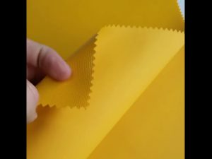 پارچه پلی کربنات 100٪ پلی استر اکسفورد پارچه کوله پشتی لمینیت PVC