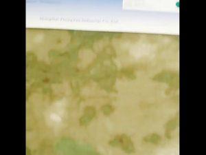 1000D نایلون اکسفورد مقاوم در برابر آب مقاوم در برابر پارچه های پتو پوشیده شده است