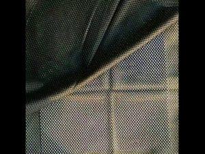 جلیقه پلی استر 160gsm جفت پارچه ای مش پارچه ای برای جلیقه نظامی