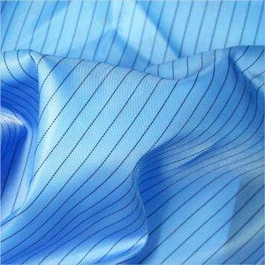 پارچه 5mm-strip-twill-polyester-antistatic-woven-fabric