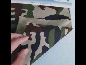 الگوی مخملی 80/20 پلی استر پارچه توری پارچه ای برای لباس نظامی