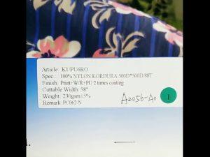 پارچه کش باف پشمی نازک 500D برای استفاده ارتش