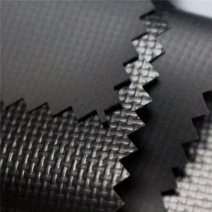 590gsm 0 44mm 1000d * 1000d 20 * 20 رنگ براق pvc پوشش پلی استر پارچه پوشش پارچه، پوشش کامیون، marquee