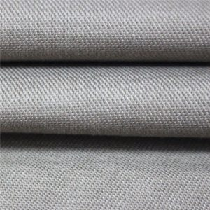 پارچه پارچه الیاف نساجی 350dsm پنبه مقاوم در برابر ساتن EN11612 پارچه FR برای لباس زمستانه