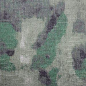 پارچه نظامی ضد پارچه ای Ripstop پارچه پنبه ای برای پوشاک ارتش